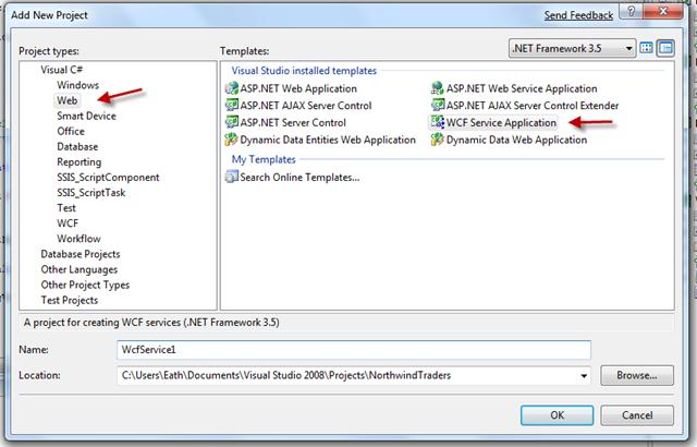 Wcf Generic Command For Vista Setup