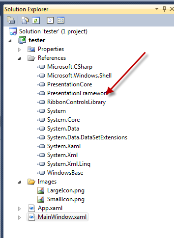 Free WPF Ribbon with source code and MVVM samples | Ira